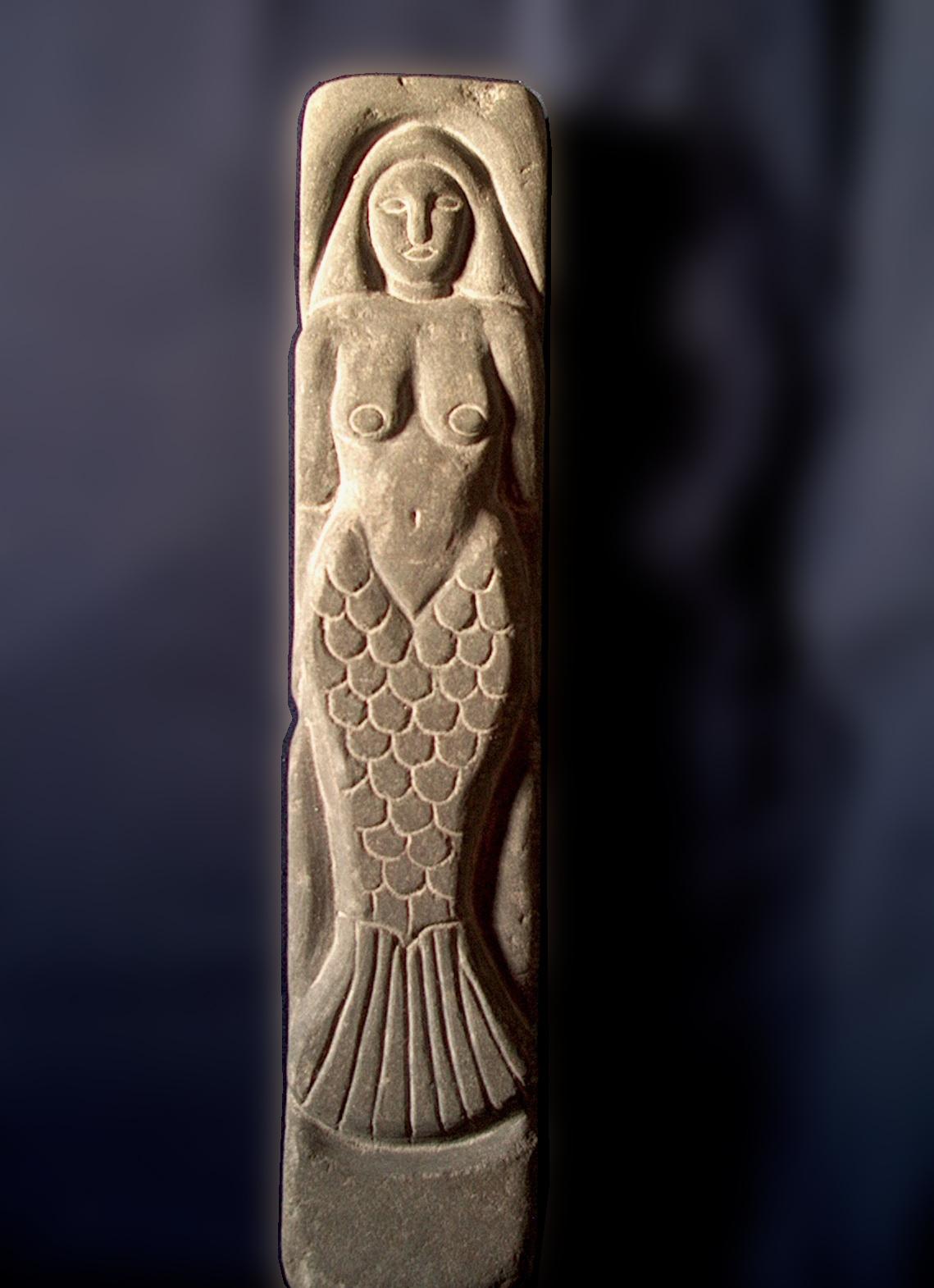 Sea Siren Engraved Stone Sandstone 2009